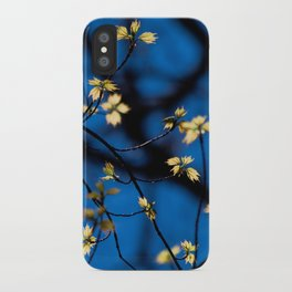 Leaves Of Spring iPhone Case