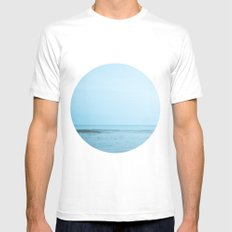 Nautical Porthole Study No.2 Mens Fitted Tee MEDIUM White