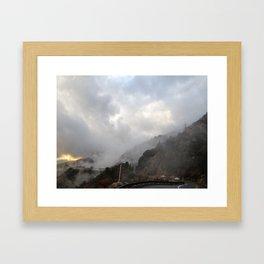 Outside Twin Peaks 3 Framed Art Print