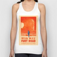 mad max Tank Tops featuring Mad Max: Fury Road by days & hours