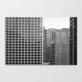 Chicago black&white 3 Canvas Print