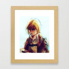 Armin Arlert Framed Art Print