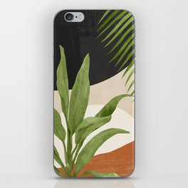 Abstract Art Tropical Leaf 11 iPhone Skin