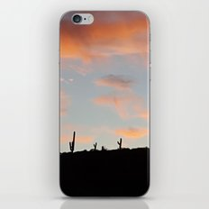 Pink Sunset iPhone & iPod Skin