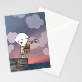 Gone Fishing (2) Stationery Cards