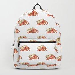 Hermit crab watercolor Backpack