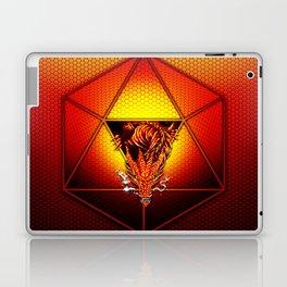 d20 Lucky Dragon Laptop & iPad Skin