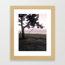 Biwa Lake in Japan Framed Art Print