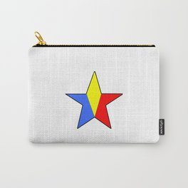 Flag of romania 6 -romania,romanian,balkan,bucharest,danube,romani,romana,bucuresti Carry-All Pouch