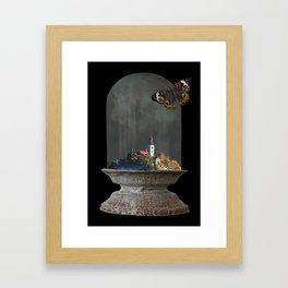 Caged Dream Framed Art Print