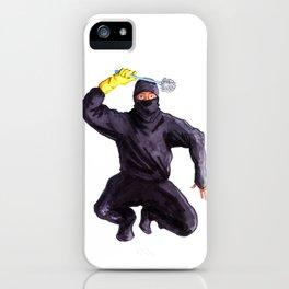 Bathroom Ninja iPhone Case
