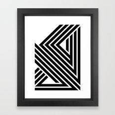 Starlines 01. Framed Art Print