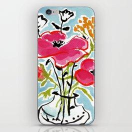 Poppy Impromptu iPhone Skin