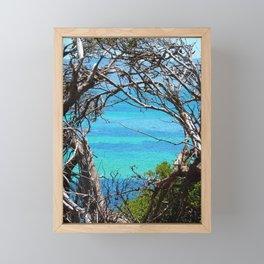 Simons Window Framed Mini Art Print