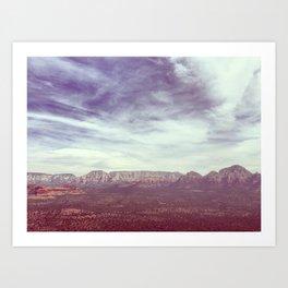 AZ Art Print