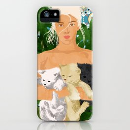 Morocco Vacay #illustration #painting iPhone Case