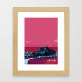 Isola Bella Framed Art Print