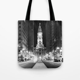 Philly by Night Tote Bag