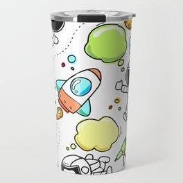 Space Sketch Travel Mug