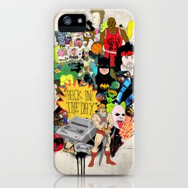 Back In The Day iPhone Case