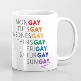 THE GAY AGENDA Coffee Mug