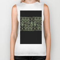 tigers Biker Tanks featuring Tigers by Camille Hermant
