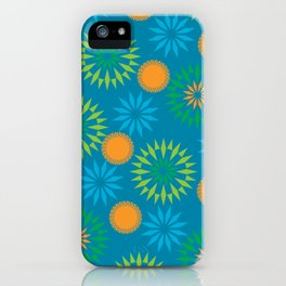 Spikey Flower Calm iPhone Case