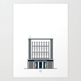 Edificio Pasaje Zingg Art Print