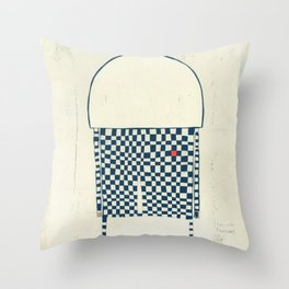 Life is not easy  Throw Pillow