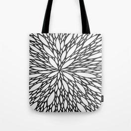 Chrysanthemum Burst Tote Bag