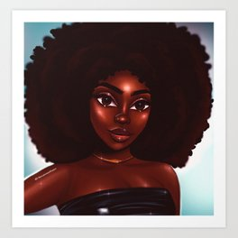 Rock that fro' Art Print