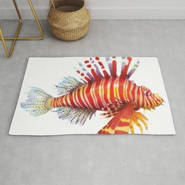 Firefish - lion fish Rug