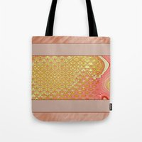 frame Tote Bags featuring Frame by Fine2art