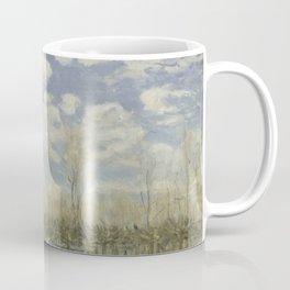 Alfred Sisley - Flood at Port-Marly, 1876 Coffee Mug