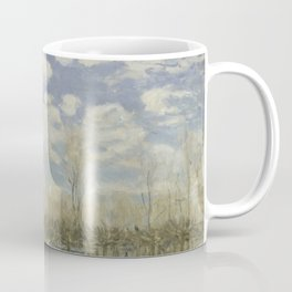 "Alfred Sisley ""Flood at Port-Marly"" Coffee Mug"