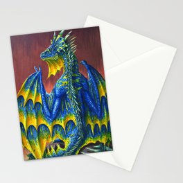 Horned Dragon Stationery Cards