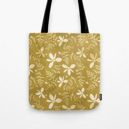 Sun Print Floral Tote Bag