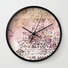 PATCHWORK PATTERN ART SITAMARHI Wall Clock