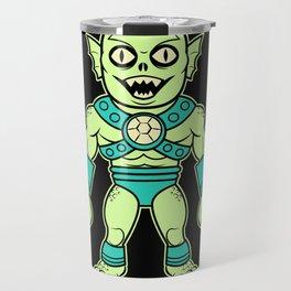 Murgus, The Sea Dewelling Sea Demon of the Sea Travel Mug
