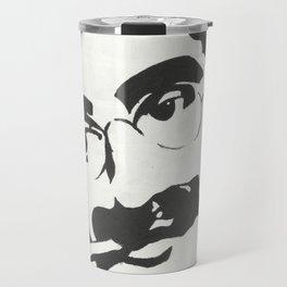 Mr. Marx Acrylic Pop Art Travel Mug