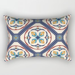 Beautiful Morocan decorative elements pattern Rectangular Pillow