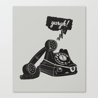 booty Canvas Prints featuring Booty Call! by Ryder Doty