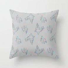 Crystal City Throw Pillow