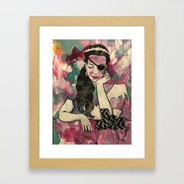 All In Framed Art Print