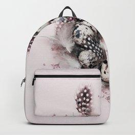 Quail eggs Backpack