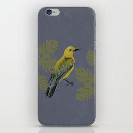 Warbler iPhone Skin