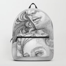 Ignudi after Michael Angelo. Sistine Chapel Backpack