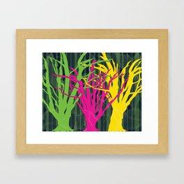 LEAF ME ALONE Framed Art Print