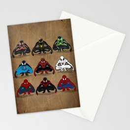 Spider-man - The Year of the Costumes Stationery Cards