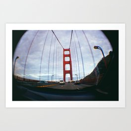 Golden Gate Bridge San Francisco Art Print